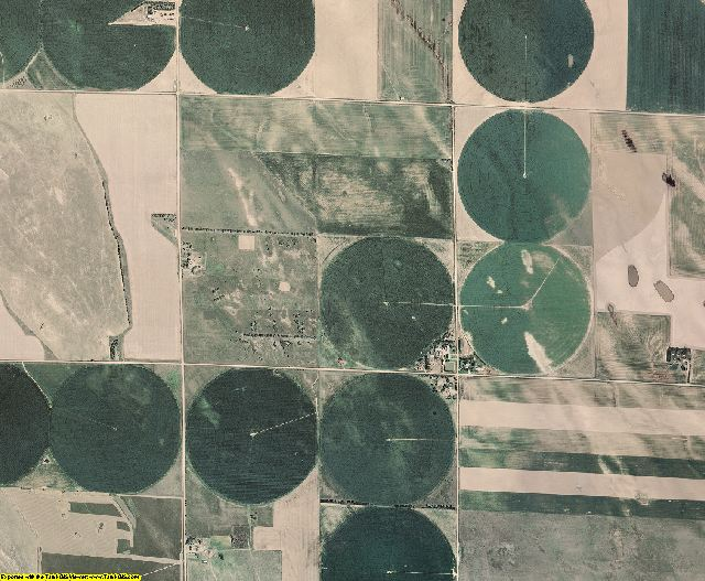 Perkins County, Nebraska aerial photography