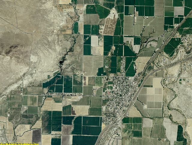 Pershing County, Nevada aerial photography
