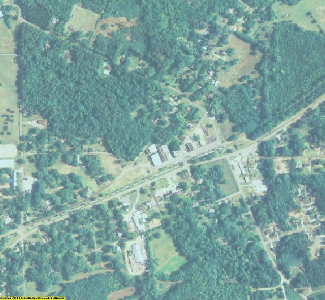 Pike County, GA aerial photography detail