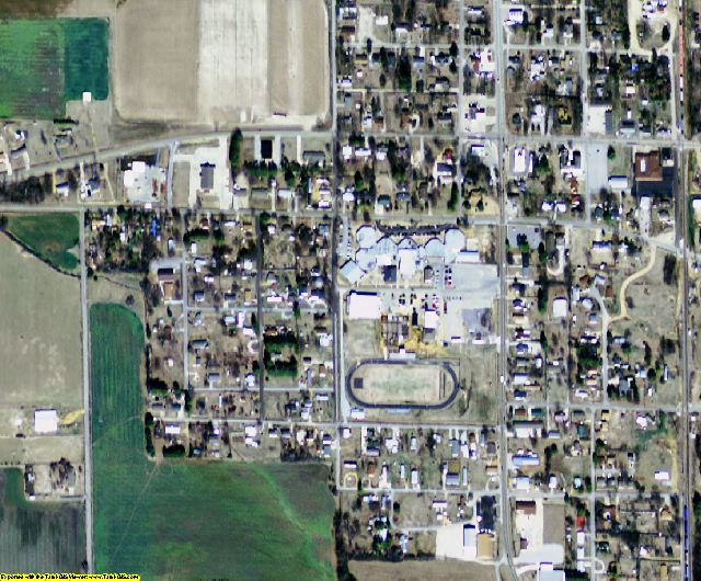 Poinsett County, AR aerial photography detail