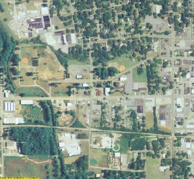 Polk County, GA aerial photography detail