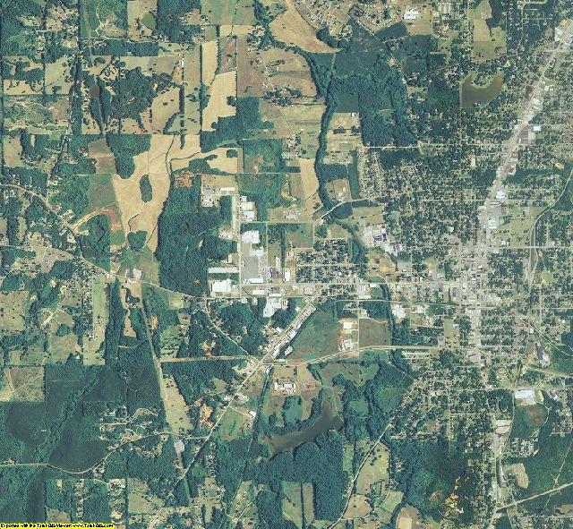 Polk County, Georgia aerial photography