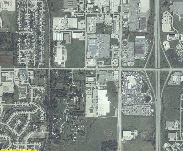 Polk County, Iowa aerial photography