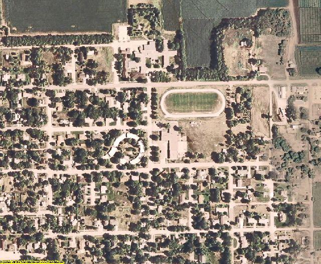 Polk County, NE aerial photography detail