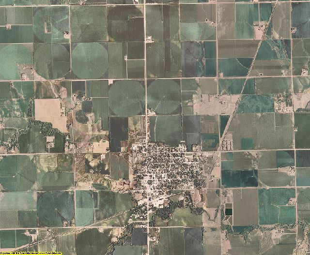 Polk County, Nebraska aerial photography