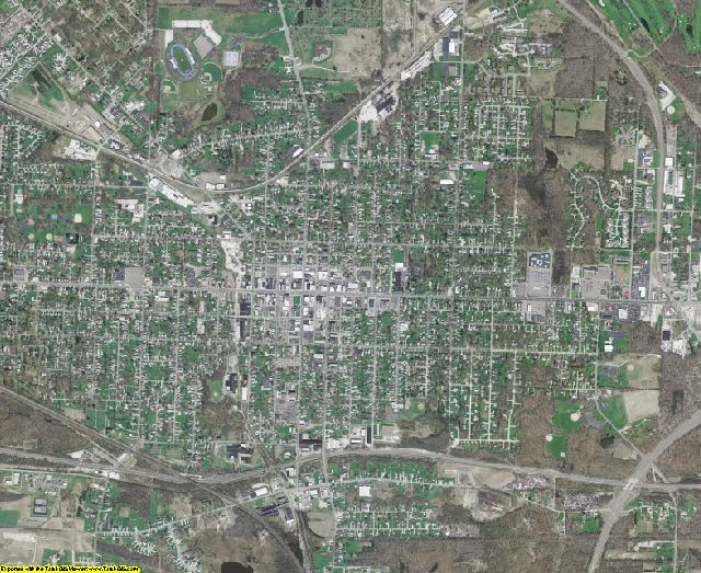 Portage County, Ohio aerial photography