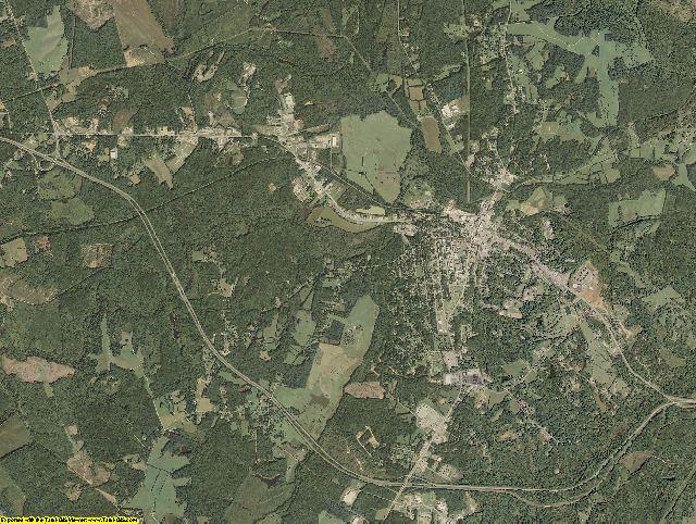 Prince Edward County, Virginia aerial photography