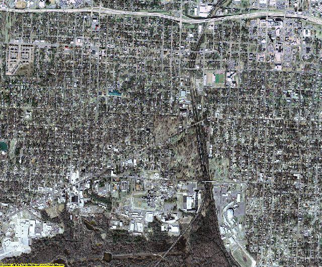 Pulaski County, Arkansas aerial photography