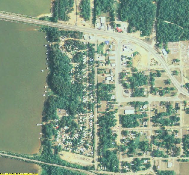 Quitman County, GA aerial photography detail