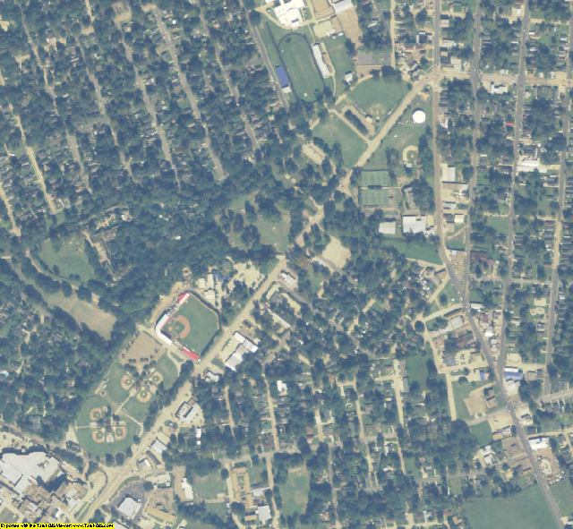 Rapides County, LA aerial photography detail