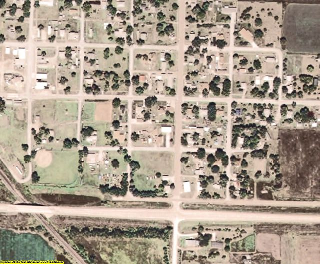 Richardson County, NE aerial photography detail