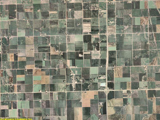 Richland County, North Dakota aerial photography