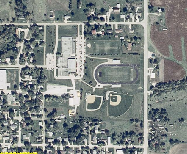 Ringgold County, IA aerial photography detail