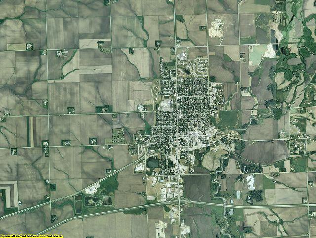 Rock County, Minnesota aerial photography