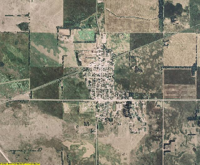 Rock County, Nebraska aerial photography