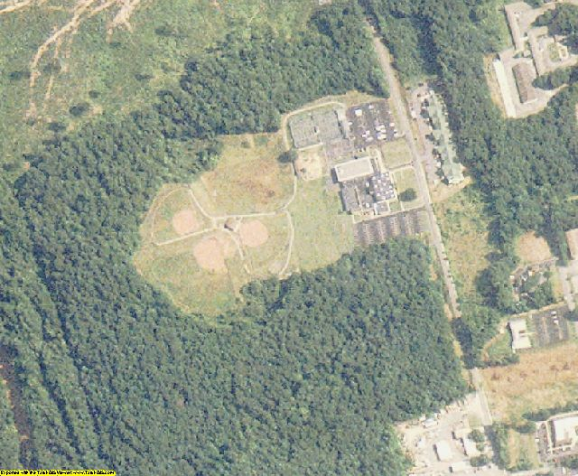 Rockingham County, NC aerial photography detail