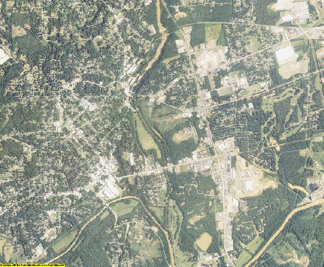 Rockingham County, North Carolina aerial photography