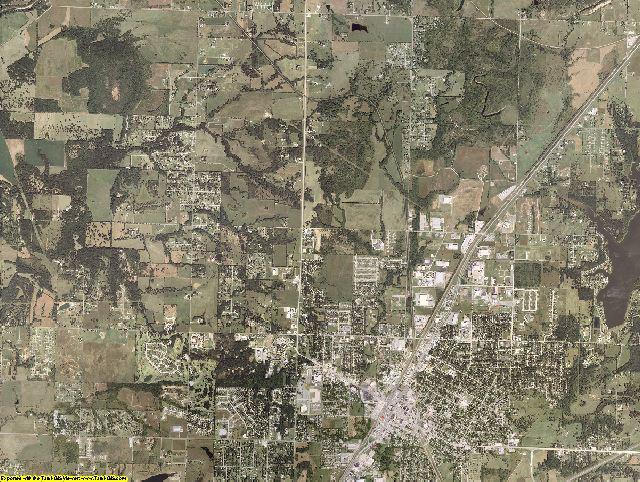 Rogers County, Oklahoma aerial photography
