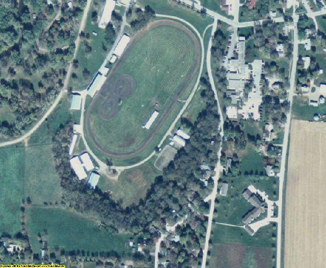 Sac County, IA aerial photography detail