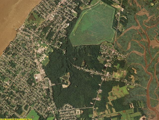 Salem County, New Jersey aerial photography