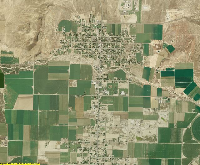 Sanpete County, Utah aerial photography