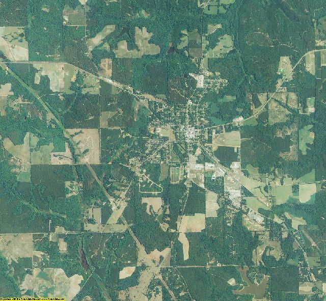 Schley County, Georgia aerial photography