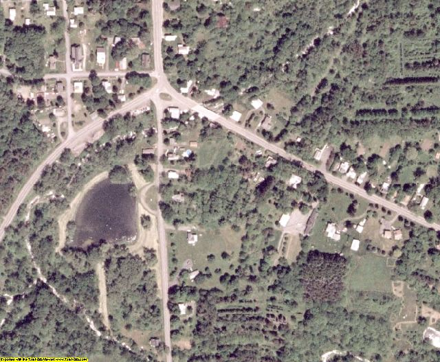 Schuyler County, NY aerial photography detail