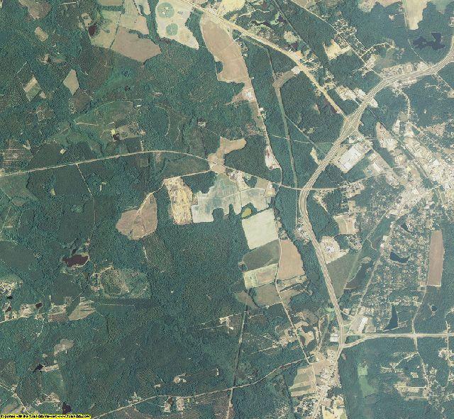 Screven County, Georgia aerial photography