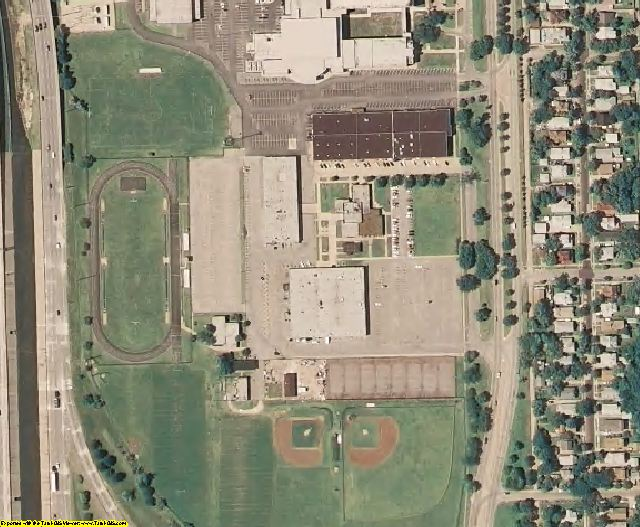 Sedgwick County, KS aerial photography detail