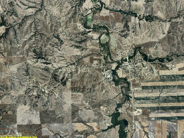 Shannon County, South Dakota aerial photography