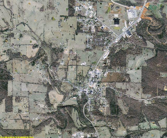 Sharp County, Arkansas aerial photography