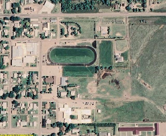 Sheridan County, KS aerial photography detail