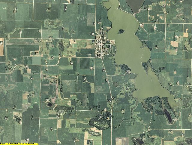 Sibley County, Minnesota aerial photography