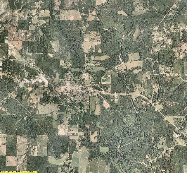 Smith County, Mississippi aerial photography