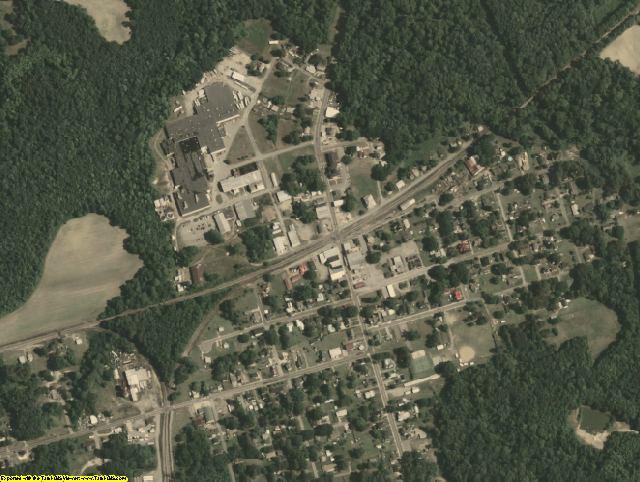 Southampton County, VA aerial photography detail