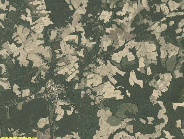 Southampton County, Virginia aerial photography