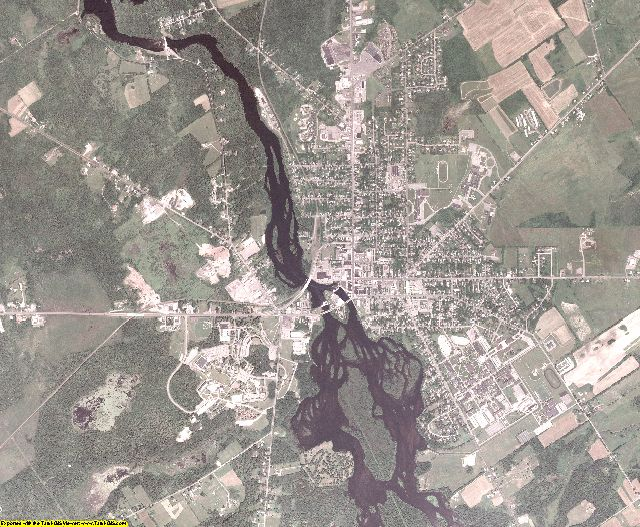 St. Lawrence County, New York aerial photography