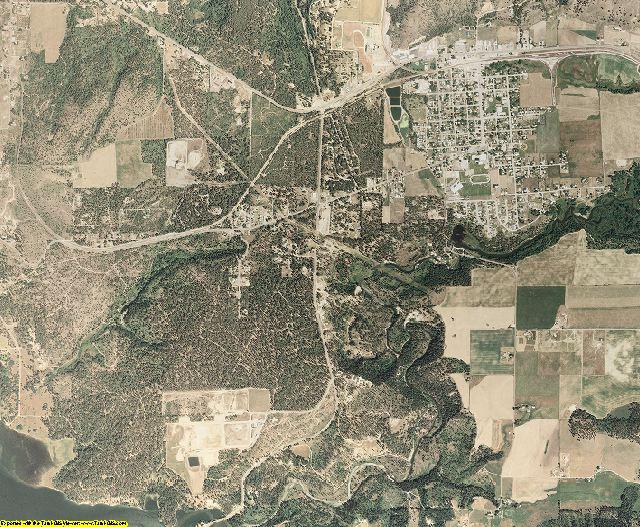 Stevens County, Washington aerial photography