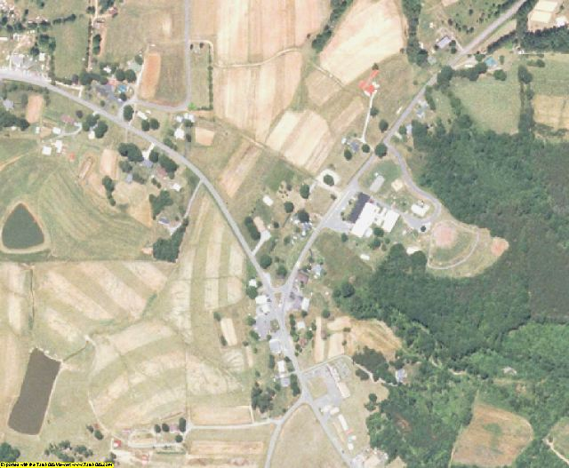 Stokes County, NC aerial photography detail