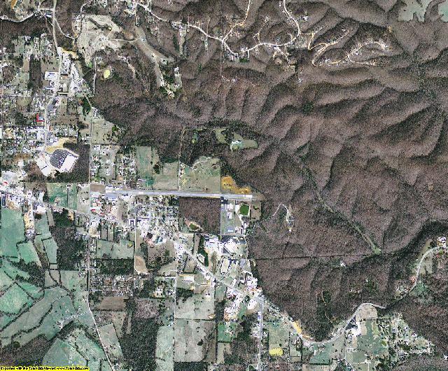 Stone County, Arkansas aerial photography