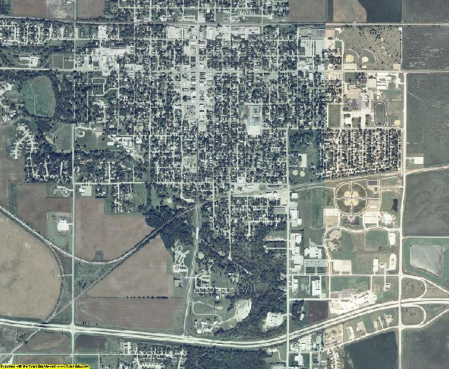 Story County, Iowa aerial photography