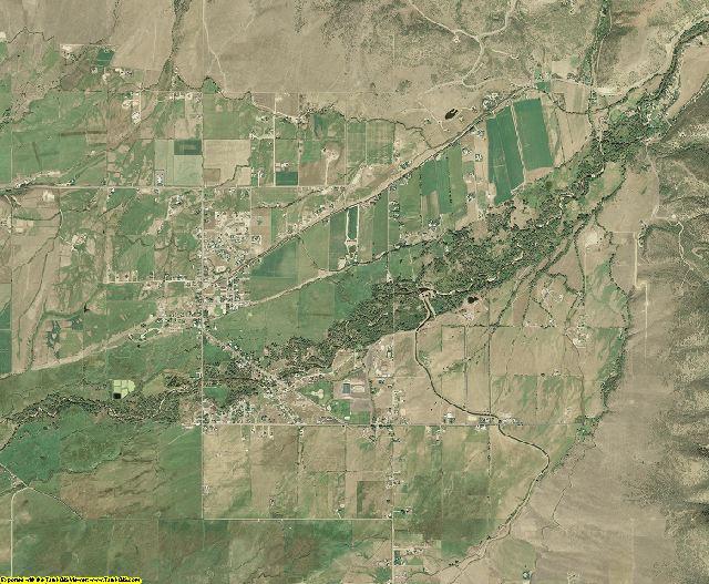 Summit County, Utah aerial photography