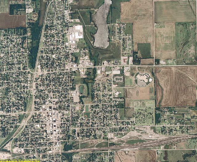 Sumner County, Kansas aerial photography