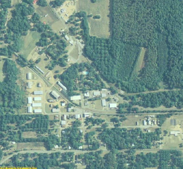 Sumter County, GA aerial photography detail