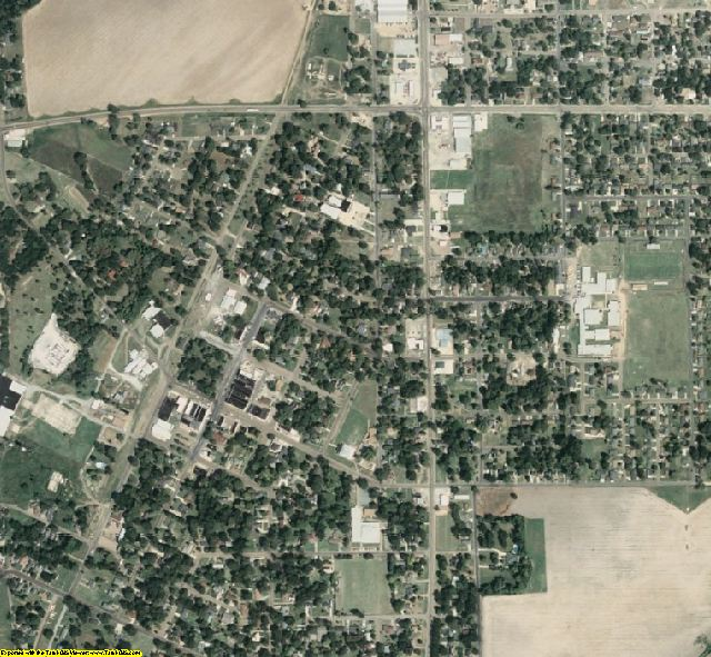 Sunflower County, MS aerial photography detail