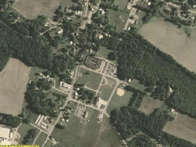 Surry County, VA aerial photography detail