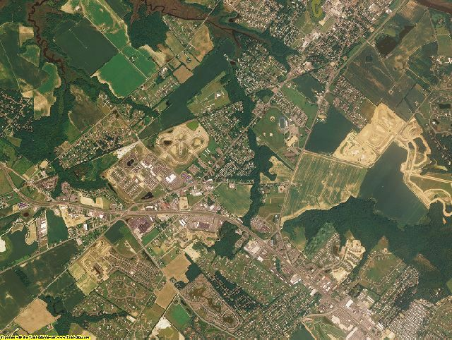 Sussex County, Delaware aerial photography