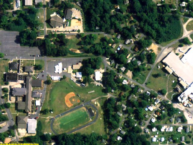 Tallapoosa County, AL aerial photography detail