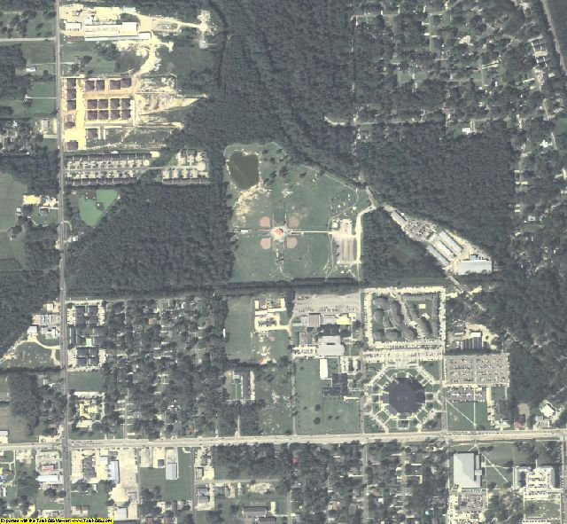 Tangipahoa County, LA aerial photography detail