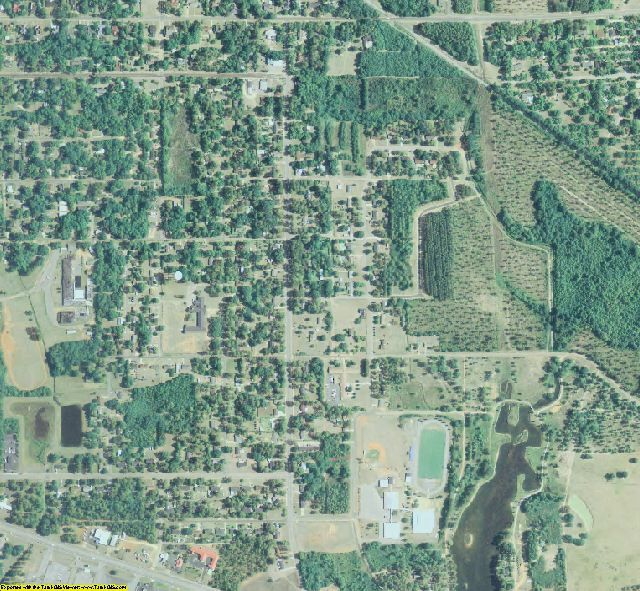 Terrell county georgia aerial photography on cd